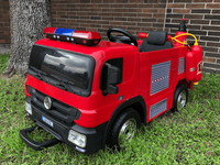 SX1818 Fire Fighting Truck 12V Kids Ride-on with Remote Control &Cap