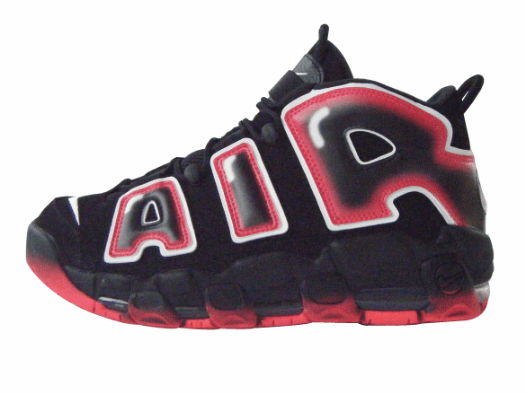 "Nike Air More Uptempo '96 ""Laser Crimson"""