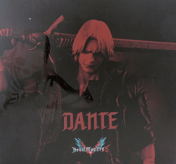 1000 Toys Devil May Cry 5 Dante Deluxe Exclusive Figure
