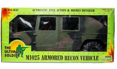 21st Century Toys Ultimate Soldier M1025 Armored Recon Vehicle