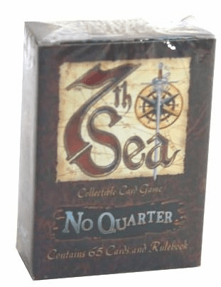 7th Sea CCG No Quarter Crimson Rogers Starter Deck
