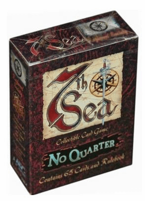 7th Sea CCG No Quarter Sea Dogs Starter Deck