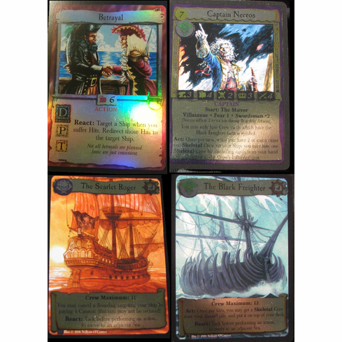 7th Sea CCG Promotional Foil Cards Set
