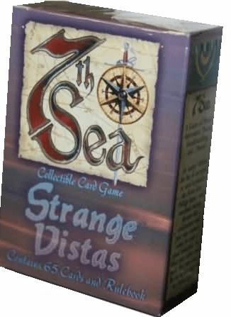 7th Sea CCG Strange Vistas Gosse's Gentleman Starter Deck