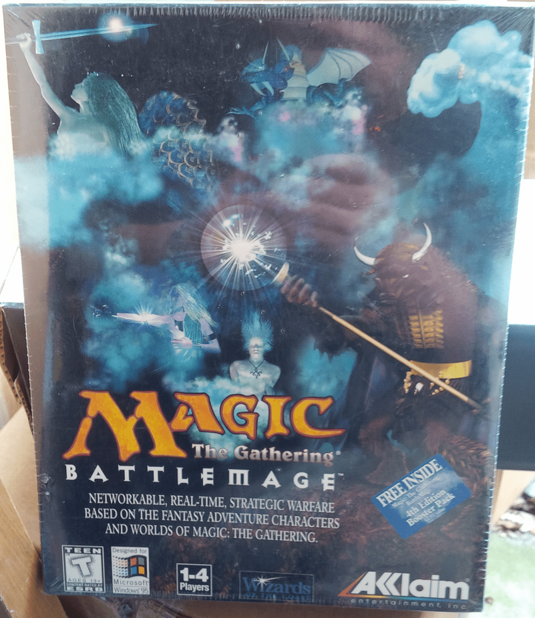 Acclaim Magic the Gathering Battlemage PC Game