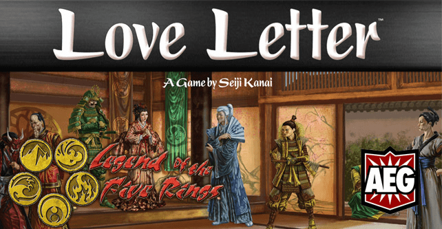 AEG Legend of the Five Rings Love Letter Card Game
