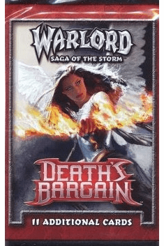 AEG Warlord Death's Bargain Booster Pack
