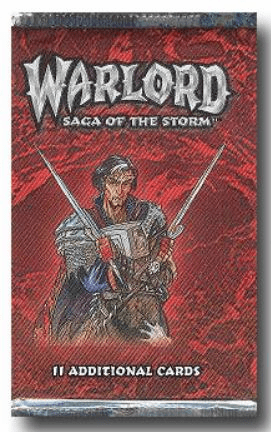 AEG Warlord Saga of the Storm Booster Pack