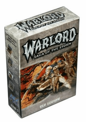 AEG Warlord Saga of the Storm Elf Legions Deck