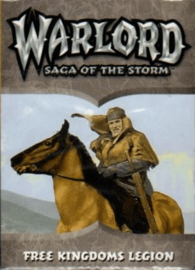 AEG Warlord Saga of the Storm Free Kingdoms Legions Deck