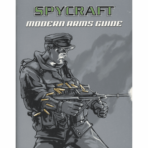 Alderac Entertainment Group Spycraft Modern Arms Guide RPG