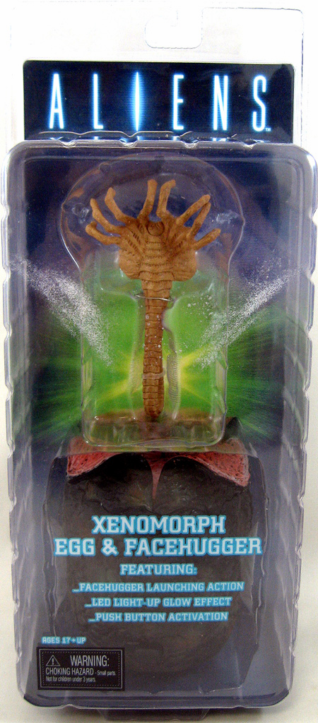 Aliens Xenomorph Egg with Launching Facehugger Set