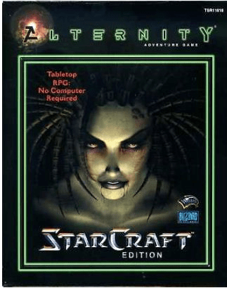 Alternity Adventure Game StarCraft Edition Role Playing Game