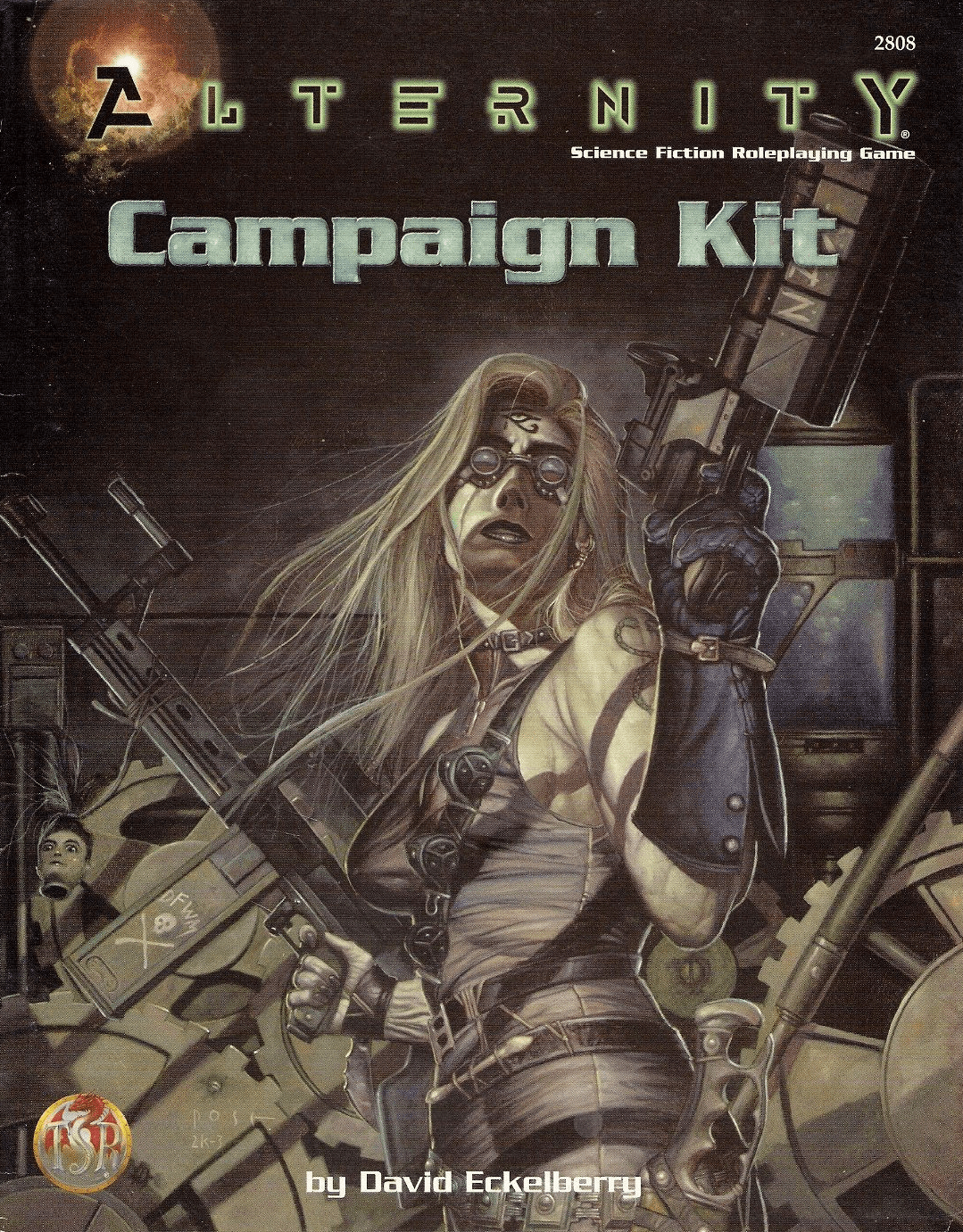 Alternity Science Fiction Adventure RPG Campaign Kit
