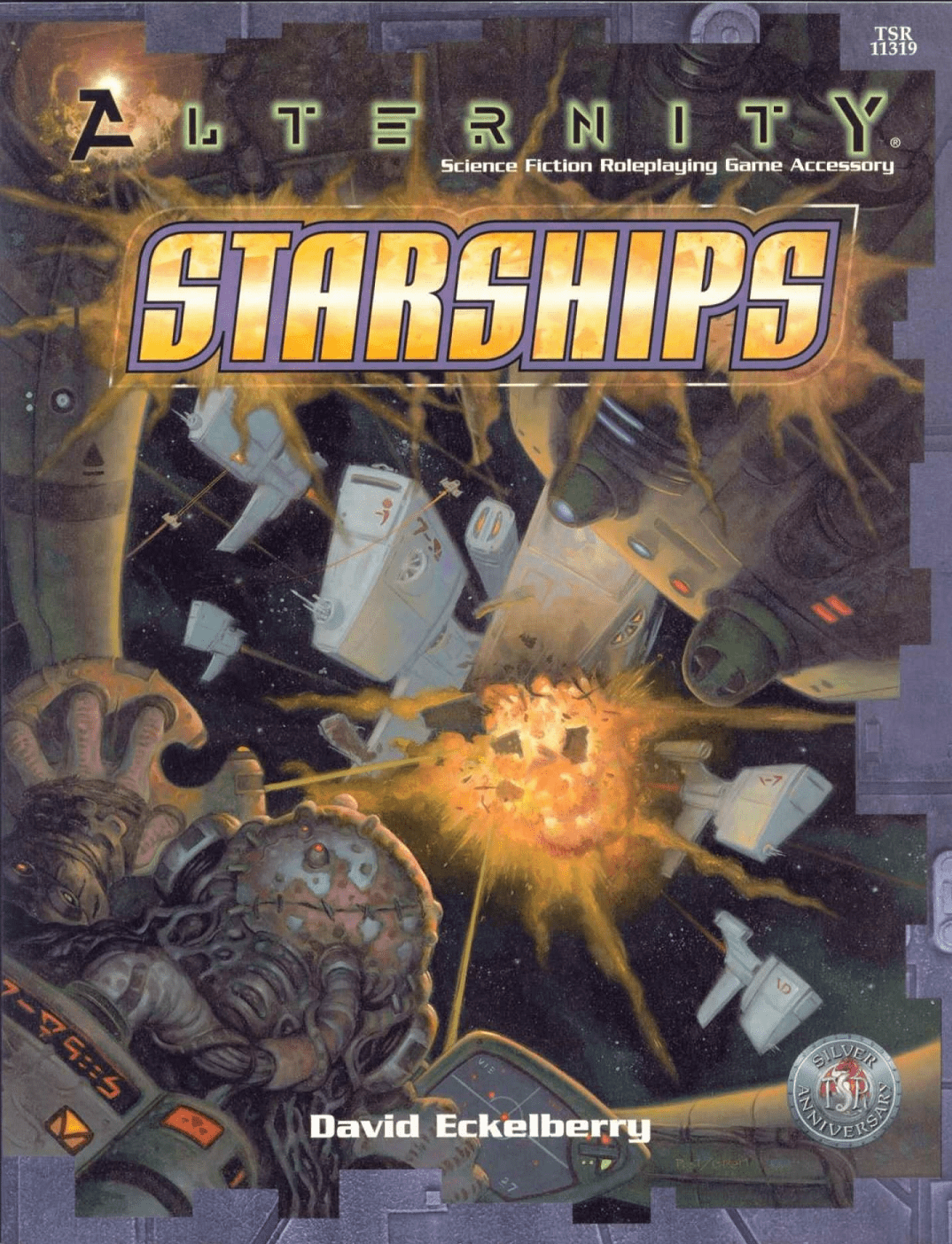 Alternity Science Fiction Adventure Starships Sourcebook
