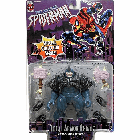 Amazing Spider-Man Animated Series Total Armor Rhino Figure