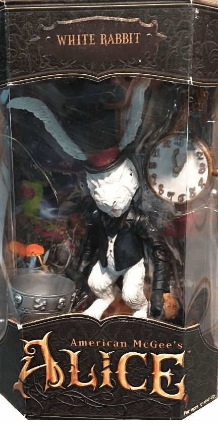American McGee's Alice White Rabbit Figure