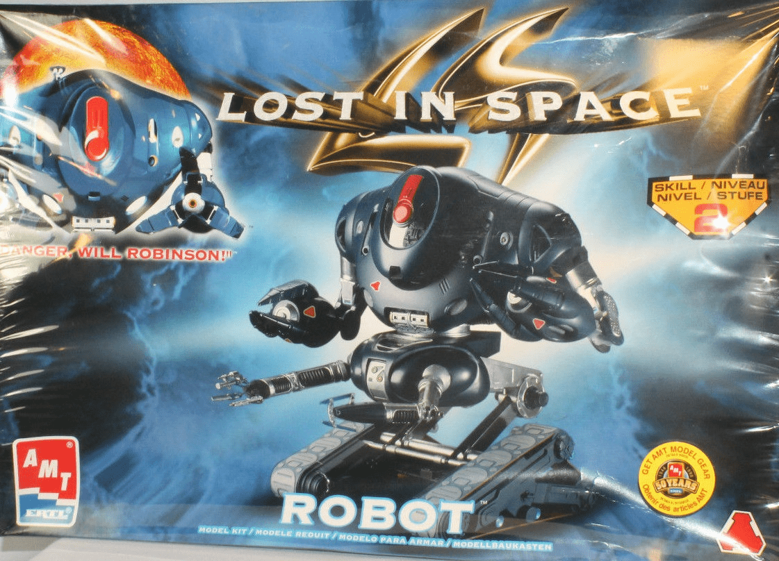 AMT/ERTL Lost in Space Robot Skill 2 Model Kit B