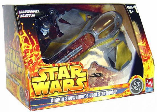 AMT/ERTL Star Wars Anakin Skywalker's Jedi Starfighter Diecast Model