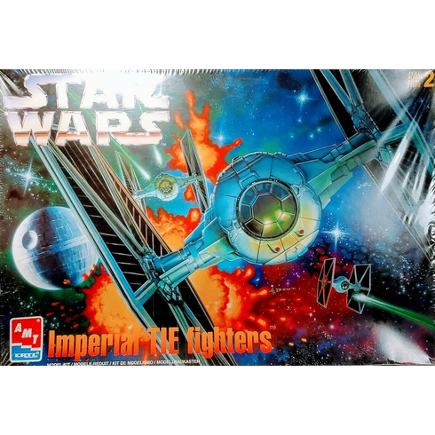AMT/ERTL Star Wars Imperial TIE Fighters Model Kit