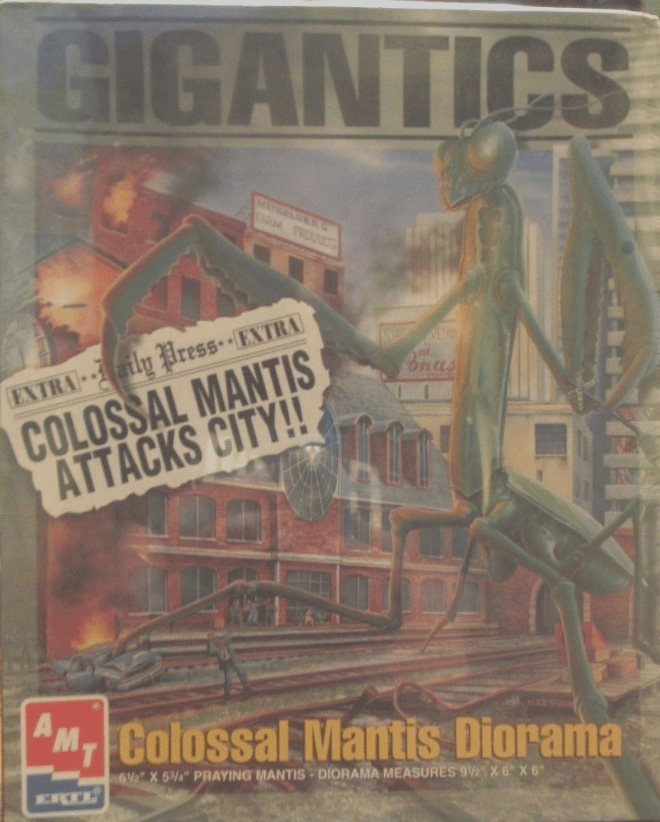 AMT Gigantics Colossal Mantis Diorama Model Kit