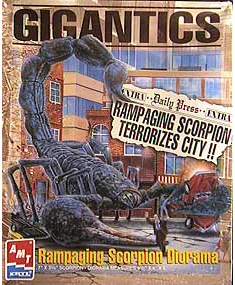 AMT Gigantics Rampaging Scorpion Diorama Model Kit