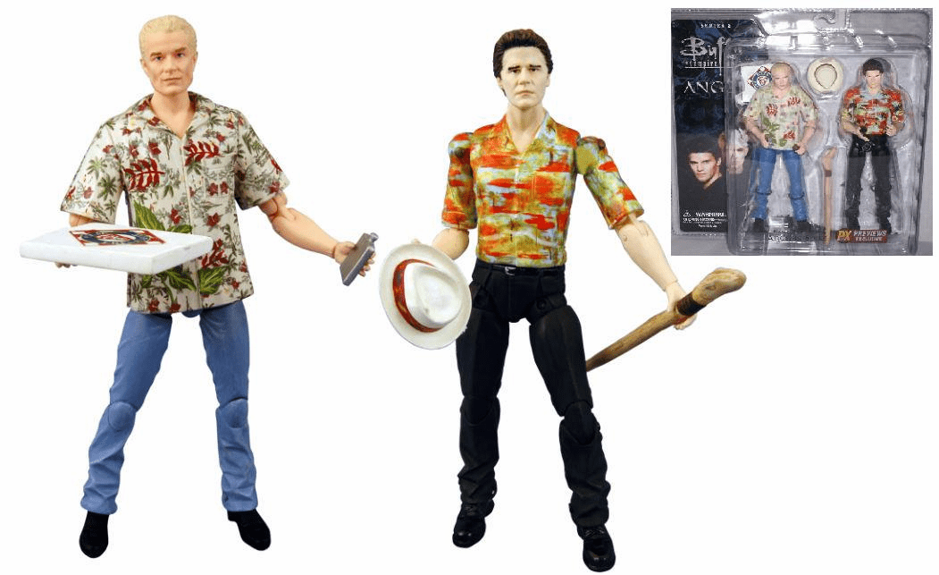 Angel the Series Angel & Spike 2 Pack Action Figures
