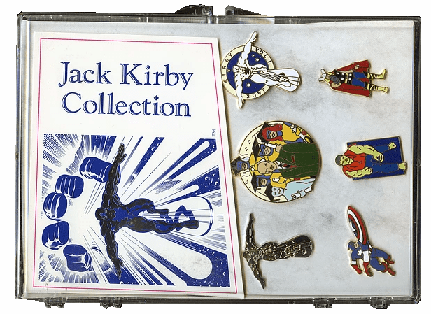 Another Fine Planet Product Jack Kirby Pin Collection