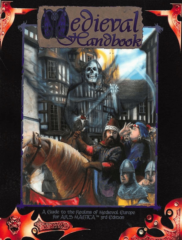 Ars Magica The Medieval Handbook RPG Book