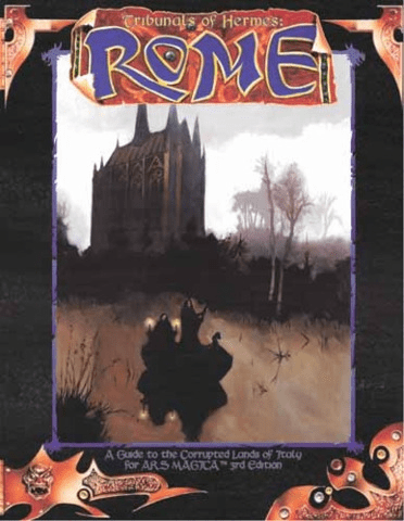 Ars Magica Tribunals of Hermes Rome RPG Book