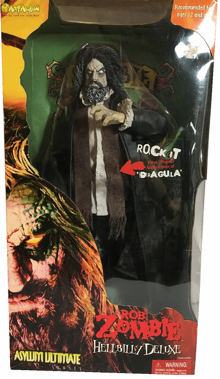 Art Asylum Ultimate Rob Zombie Hellbilly Deluxe Figure