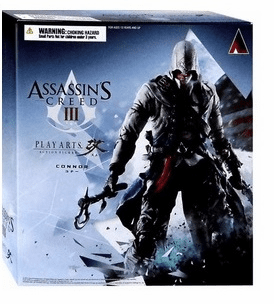Assassin's Creed III Play Arts Kai Connor Figure