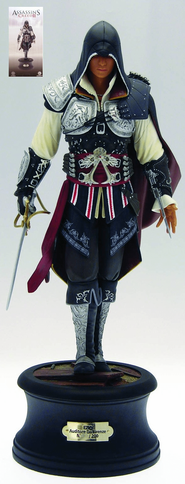 Assassins Creed II Ezio Deluxe Edition Statue