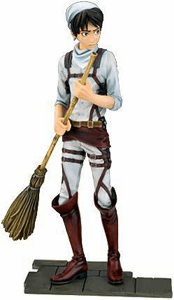 Attack On Titan DFX Eren Yeager Cleaning Figure