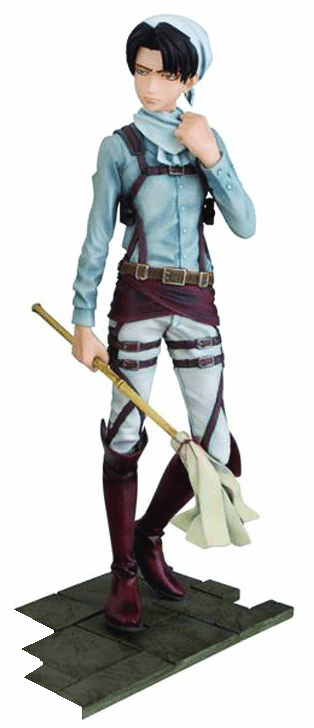 Attack On Titan DFX Levi Ackerman Cleaning Figure