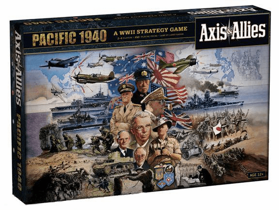 Avalon Hill Axis and Allies Pacific 1940 Board Game