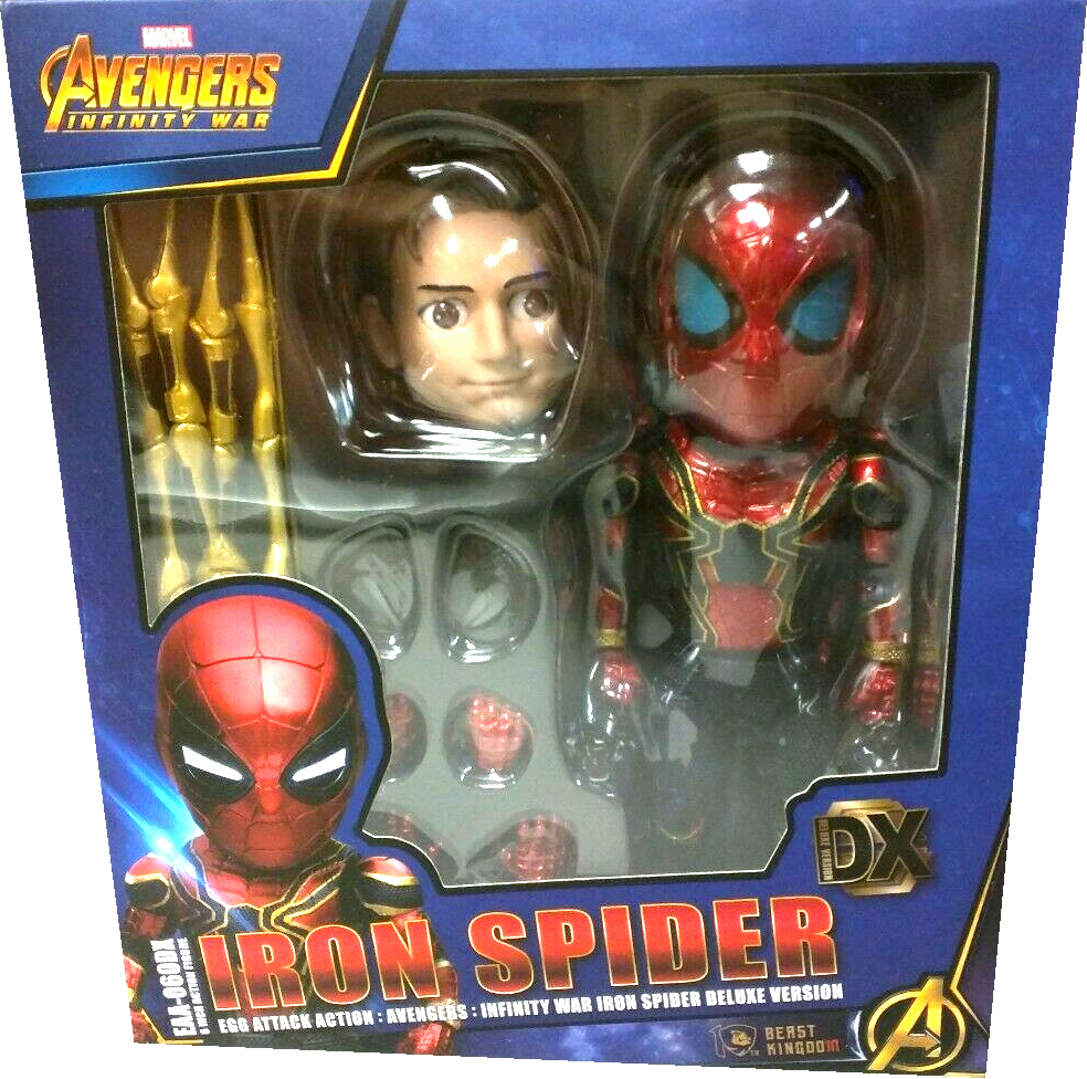 Avengers Egg Attack Action Iron-Spider Variant Figure