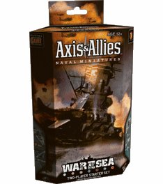 Axis & Allies Naval Miniatures War at Sea 2-Player Starter Set