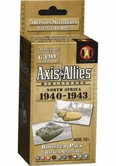 Axis & Allies North Africa 1940-1943 Booster Pack