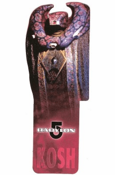 Babylon 5 Kosh Bookmark