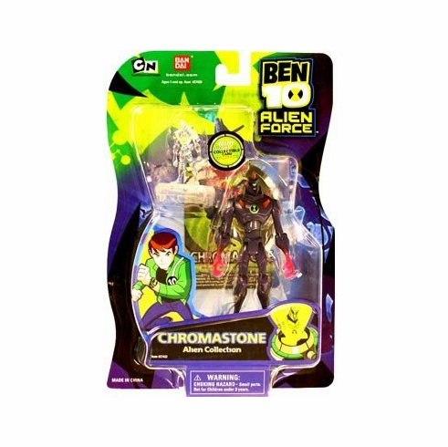 Bandai Ben 10 Alien Force Chromastone Figure