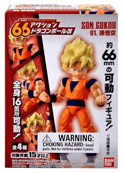 Bandai Dragon Ball 66 Action Kai Goku Figure