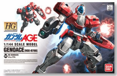 Bandai Mobile Suit Gundam Genoace Model Kit