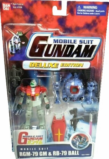 Bandai Mobile Suit Gundam RGM-79 GM and RB-79 Ball Deluxe Edition