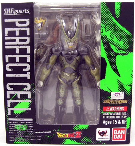 Bandai S.H. Figuarts Dragonball Z Perfect Cell Figure