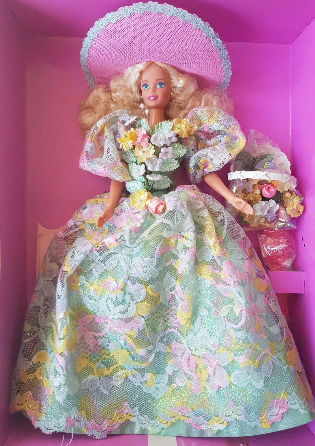 Barbie Enchanted Seasons Collection Spring Bouquet Doll