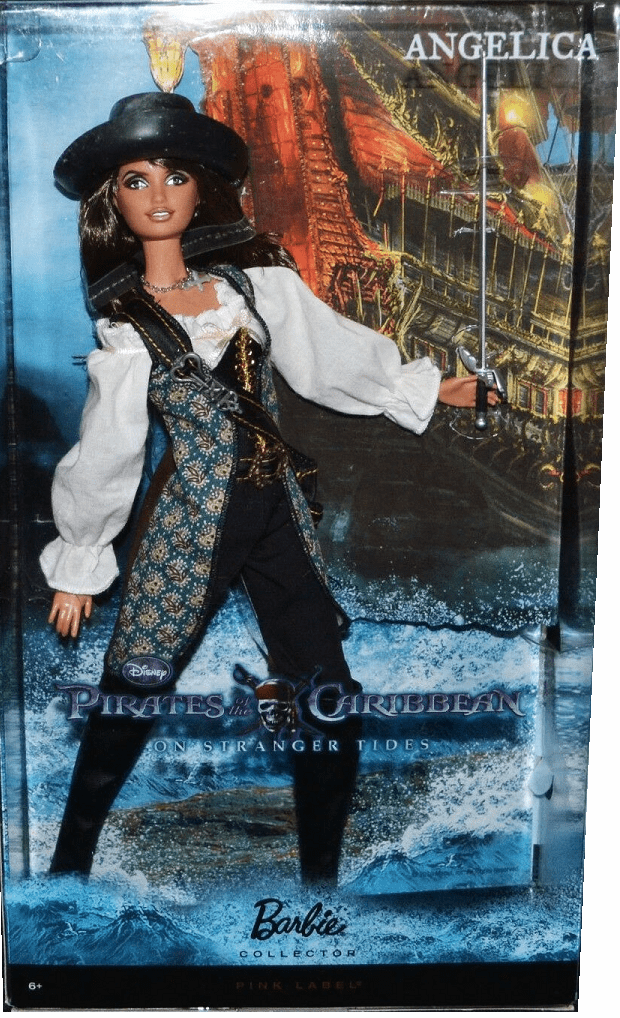 Barbie Pirates Of The Caribbean Angelica Doll