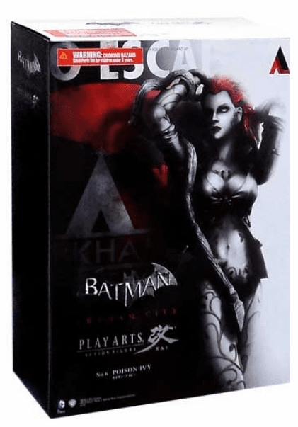 Batman Arkham City Play Arts Kai Poison Ivy Figure
