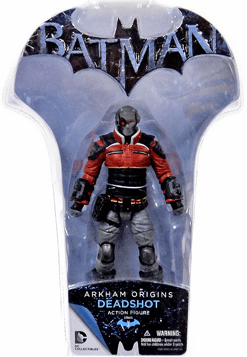 Batman Arkham Origins Deadshot Action Figure