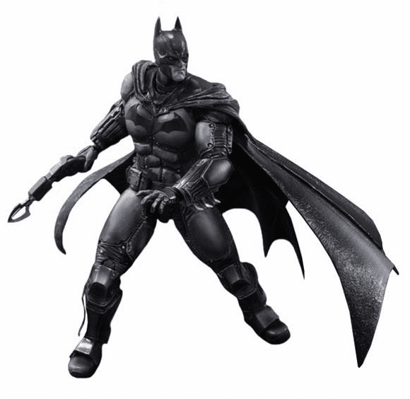 Batman Arkham Origins Play Arts Kai Batman Figure